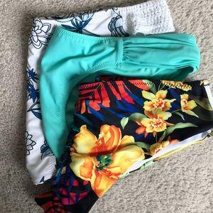 Bundle (3) Swimsuit bottoms